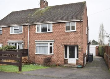 Thumbnail 3 bed semi-detached house for sale in Longlands Road, Midway, Swadlincote