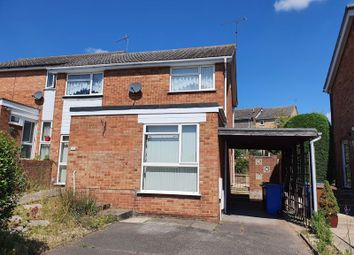 Thumbnail Semi-detached house for sale in Leicester Close, Ipswich