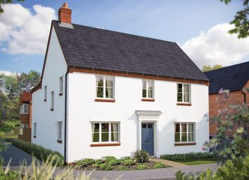 "Thumbnail 4 bed detached house for sale in ""The Ansell"" at Rush Lane, Bidford-On-Avon, Alcester"
