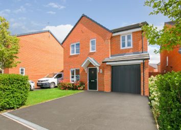 Thumbnail 4 bed detached house for sale in Church Field Close, Crewe