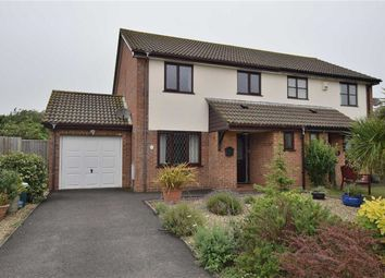 Thumbnail 3 bed semi-detached house for sale in Clematis Close, Highcliffe, Christchurch