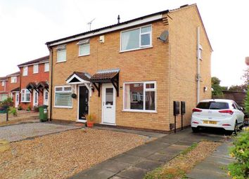 Thumbnail 2 bed semi-detached house for sale in Spinney Halt, Whetstone, Leicester