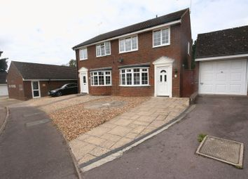 Thumbnail 3 bed semi-detached house to rent in Windmill Close, Buckingham