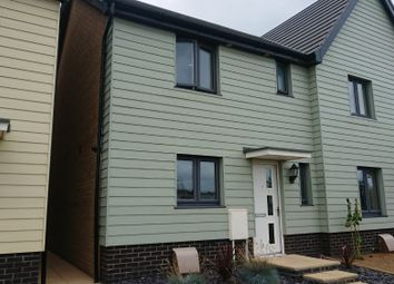 Thumbnail 3 bed semi-detached house to rent in Royal Observer Way, Seaton