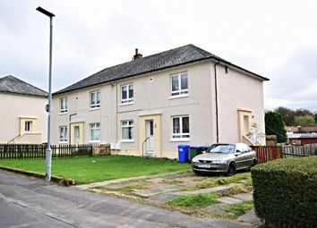 Thumbnail 2 bed flat for sale in Hopes Avenue, Dalmellington, South Ayrshire