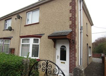 Thumbnail 3 bed semi-detached house for sale in Tre Ifor, Llwydcoed, Aberdare