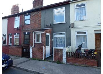 Thumbnail 2 bed terraced house to rent in Union Road, Lowestoft