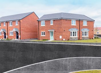 Thumbnail 3 bedroom semi-detached house for sale in Broughton Way, Broughton Astley