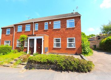 Thumbnail 3 bed town house for sale in The Square, Glenfield, Leicester
