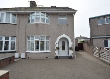 Thumbnail 3 bed semi-detached house for sale in Strathmore Avenue, Walney, Cumbria