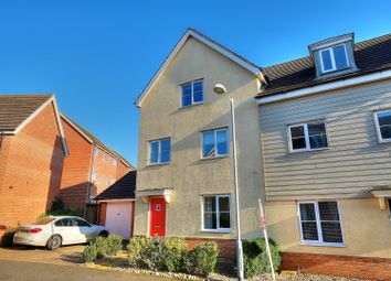 Thumbnail 4 bedroom semi-detached house for sale in Magnolia Way, Norwich