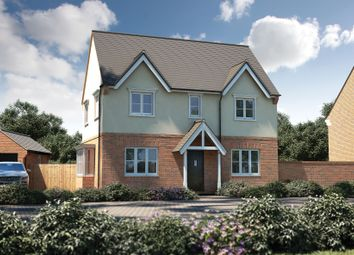 "Thumbnail 3 bed detached house for sale in ""The Bratton"" at Witney Road, Kingston Bagpuize, Abingdon"