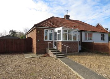 Thumbnail 2 bed semi-detached bungalow for sale in Oval Road, New Costessey, Norwich