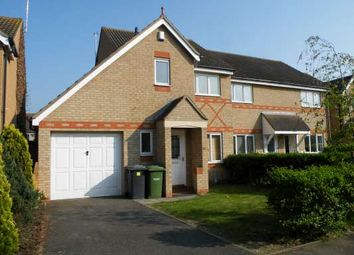 Thumbnail 3 bed end terrace house to rent in Brodsworth Road, Park Farm, Peterborough