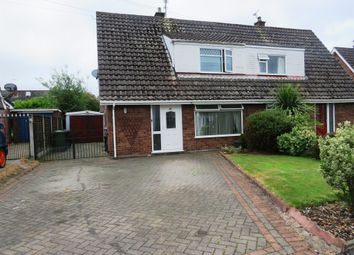 Thumbnail 3 bed semi-detached house for sale in Nun House Drive, Winsford
