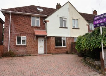 Thumbnail 4 bed semi-detached house for sale in Winnards Park, Sarisbury Green