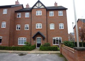Thumbnail 1 bed flat to rent in Newhaven Court, Mansion Gardens, Nantwich