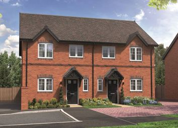 "Thumbnail 2 bed semi-detached house for sale in ""The Guydon"" at School Road, Salford Priors, Evesham"
