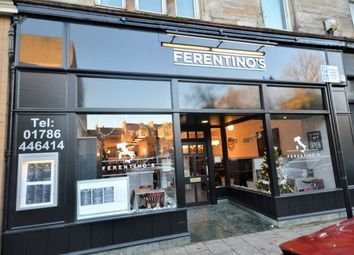 Thumbnail Restaurant/cafe for sale in Dumbarton Road, Stirling
