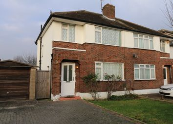 Thumbnail 3 bed semi-detached house for sale in Bush Hill Road, Kenton, Harrow
