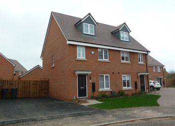 Thumbnail 3 bed town house to rent in Horsfall Drive, Sutton Coldfield