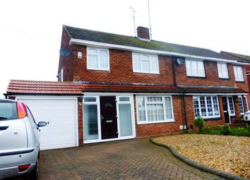 Thumbnail 3 bed semi-detached house to rent in Hadrian Avenue, Dunstable