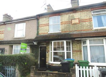 Thumbnail 2 bedroom terraced house for sale in Victoria Road, Watford