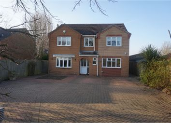 Thumbnail 5 bed detached house for sale in Smeeth Road, Wisbech