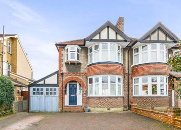 Thumbnail 3 bed semi-detached house for sale in The Manor Drive, Worcester Park