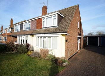 Thumbnail 3 bed semi-detached house to rent in Appledore Crescent, Sidcup