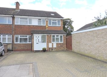Thumbnail 4 bedroom semi-detached house for sale in Holgate Drive, Luton