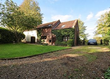 Thumbnail 3 bed barn conversion for sale in Church Lane, Stratton St. Michael, Norwich