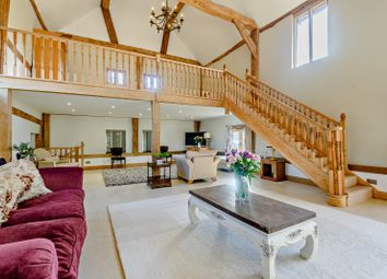 Thumbnail 5 bed barn conversion for sale in Slough Green Lane, Warninglid, Haywards Heath, West Sussex