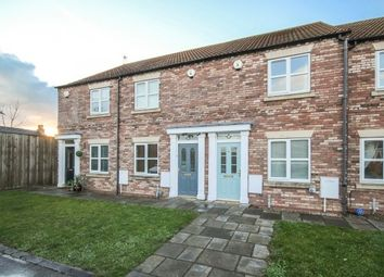 Thumbnail 2 bed terraced house to rent in The Maltings, Cliffe, Selby