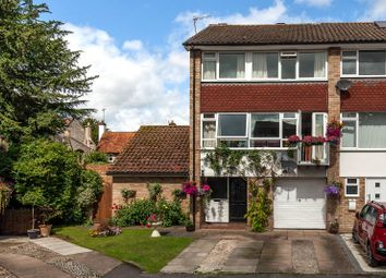 Thumbnail 4 bedroom end terrace house for sale in Rookery Court, Marlow, Buckinghamshire