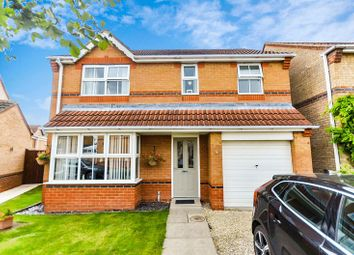 Thumbnail 4 bed detached house for sale in 6 Darwin Court, Grimsby