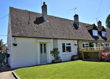 Thumbnail 2 bed semi-detached house for sale in Church Close, Bampton