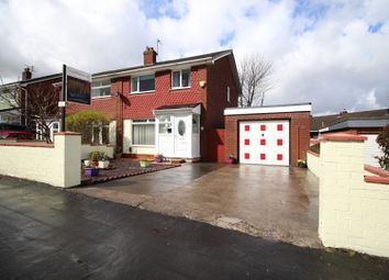 Thumbnail 3 bed semi-detached house for sale in Denbydale Way, Oldham, Lancashire