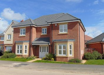Thumbnail 4 bed detached house to rent in Devana Way, Great Glen, Leicester