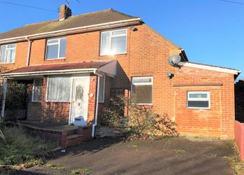Thumbnail 3 bed semi-detached house for sale in Hall Road, West Howe, Bournemouth