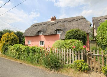 Thumbnail 3 bed cottage for sale in Church Lane, Castle Camps, Cambridge