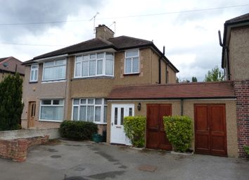 Thumbnail 3 bed semi-detached house to rent in Hayling Avenue, Feltham
