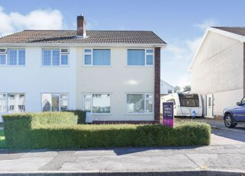 Thumbnail 3 bed semi-detached house for sale in Ravensfield, Swansea