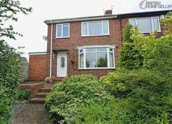 Thumbnail 3 bed semi-detached house for sale in Hillside Gardens, Sunderland, Tyne And Wear