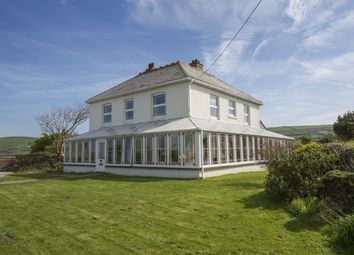 Thumbnail 6 bed detached house for sale in Bossiney, Tintagel
