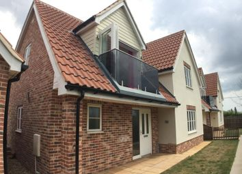 Thumbnail 3 bedroom detached house to rent in Lower Harlings, Shotley Gate, Ipswich