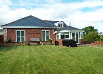 Thumbnail 3 bed detached bungalow for sale in First Row, Linton Colliery, Morpeth, Northumberland