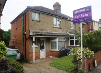 Thumbnail 3 bed semi-detached house for sale in Dell Road, Southampton