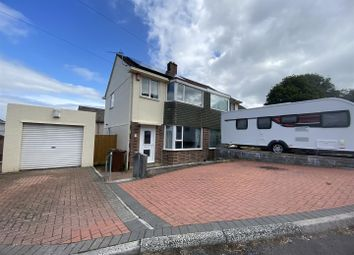 Thumbnail 3 bed semi-detached house for sale in Amados Close, Plympton, Plymouth