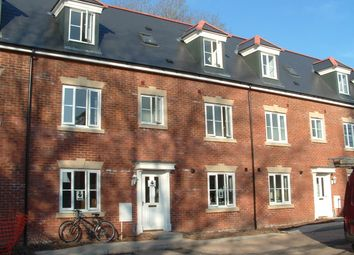 Thumbnail 4 bedroom town house to rent in Veitch Close, Gras Lawns, St Leonards, Exeter
